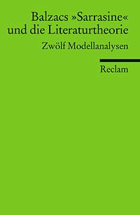 Cover Balzacs Sarrasine und die Literaturtheorie